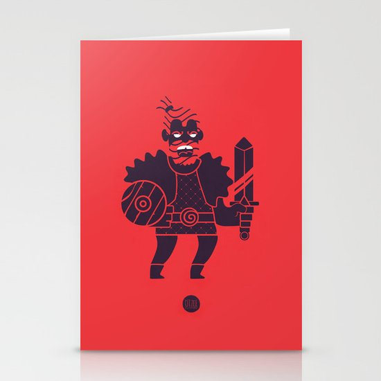 Barbarian Stationery Card