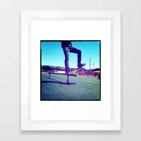 Blunt Framed Art Print
