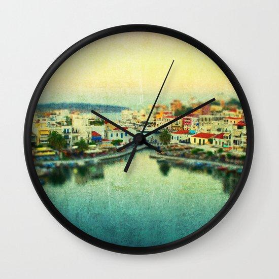 Agios Nikolaos Wall Clock