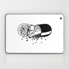 Sleep Forever Laptop & iPad Skin