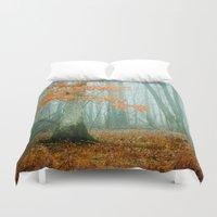 Autumn Woods Duvet Cover