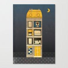Night spy Canvas Print