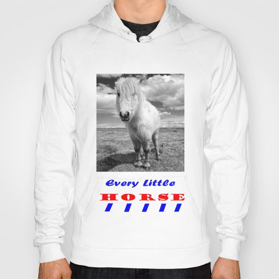 Every Little Horse  Hoody