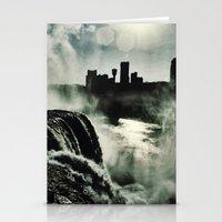 Misty Mist  Stationery Cards