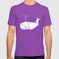 White Whale Mens Fitted Tee Ultraviolet SMALL