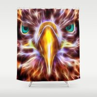 Abedabun - The Sea Eagle Shower Curtain
