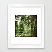 Across The Bridge Framed Art Print