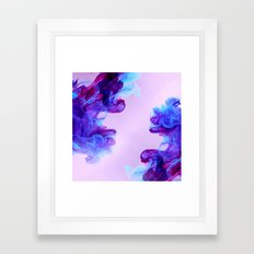 Ink Drops Framed Art Print