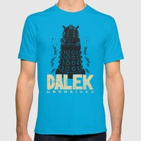 Dalek Unchained Mens Fitted Tee Teal SMALL