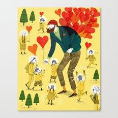 Love distributor Canvas Print