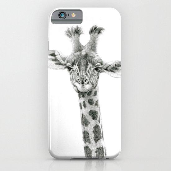 Young Giraffe  G2012-053 iPhone & iPod Case