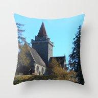 Crathie Church, Balmoral… Throw Pillow