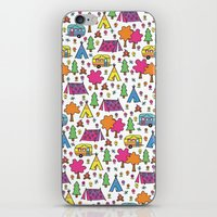 Camp Party iPhone & iPod Skin