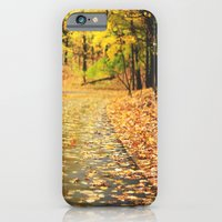 iPhone & iPod Case featuring Autumn by Stephanie Berezecky