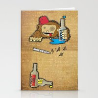Too Much Of A Good Thing… Stationery Cards