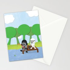 SW Kids - Darth Fishing Stationery Cards