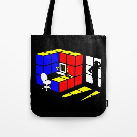 Rubix Cubicle Tote Bag