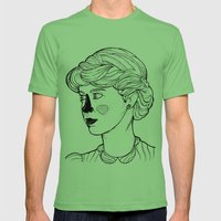 KATE (Kingston Falls 1984) Mens Fitted Tee Grass SMALL