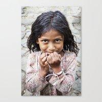 The Girl from San Esteban Catarina Canvas Print
