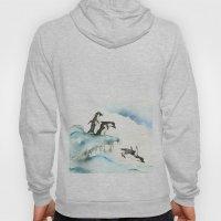 Jumping Penguins - Water… Hoody