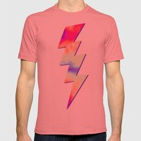 Calm Of The Storm Mens Fitted Tee Pomegranate SMALL