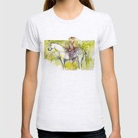 Rest of the amazon Womens Fitted Tee Ash Grey SMALL