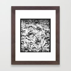 Mouth Party Framed Art Print