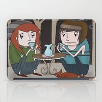 Tea Party iPad Case
