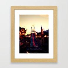 Fun Slide Framed Art Print