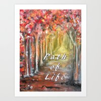 Path Of Life Art Print