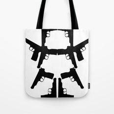 Pistol Robot Tote Bag