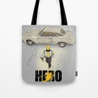 Real Hero Tote Bag
