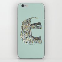 Elephant Paper Collage I… iPhone & iPod Skin