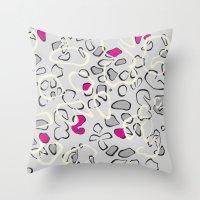Leopard Print 3 Throw Pillow