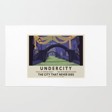 Undercity Classic Rail Poster Rug