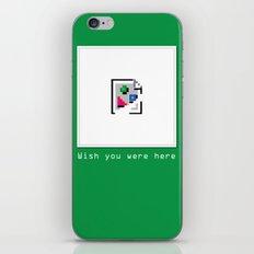 Talk Nerdy to me - Wish you were here iPhone & iPod Skin