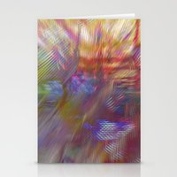 Textural Mountains 2 Stationery Cards