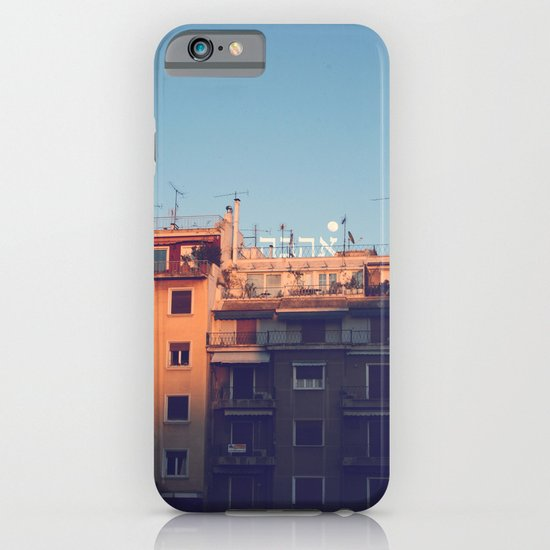 Ahava at Dusk iPhone & iPod Case