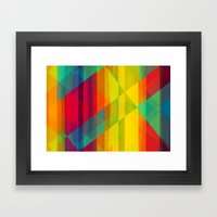 Reflecting the Sun Framed Art Print