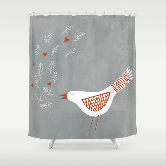 La la la Shower Curtain