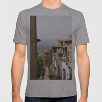Palestrina Mens Fitted Tee Athletic Grey SMALL
