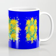 Cobalt Blue-Teal Abstrac… Mug