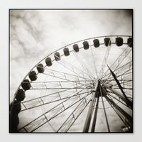 { ferris day out } Canvas Print