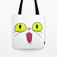Cat Face 1 Tote Bag