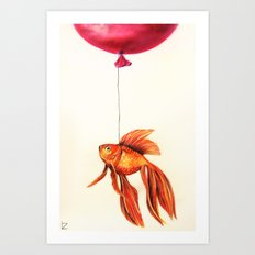 Dream About Flying Art Print