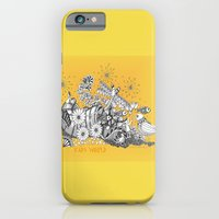 iPhone Cases featuring Kids World of Sunshine a Zentangle Illustration by Vermont Greetings