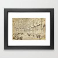 Grand Ball Hotel De Vill… Framed Art Print