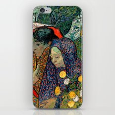 Memory of the Garden at Etten by Vincent van Gogh iPhone & iPod Skin