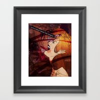 Love Always Wakes The Dr… Framed Art Print