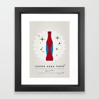 My SUPER SODA POPS No-02 Framed Art Print